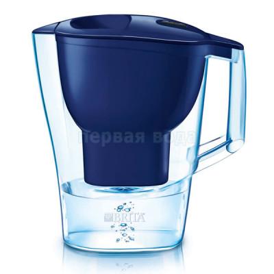 Фильтры-кувшины - Фильтр кувшин Brita Aluna XL (синий) - фото 1