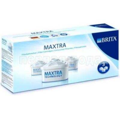 Картриджи к фильтрам-кувшинам  - Комплект сменных кассет Brita Maxtra P-3 - фото 1