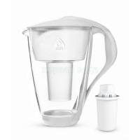 Фильтр кувшин Dafi Crystal Classic  2.0 LED белый стекло