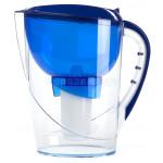 Фильтр кувшин Гейзер Корус синий + доп. модуль в подарок