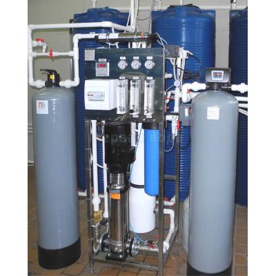 0 - Система получения очищенной воды, производительностью 500 л/час (до 10 м3/сутки) - фото 1