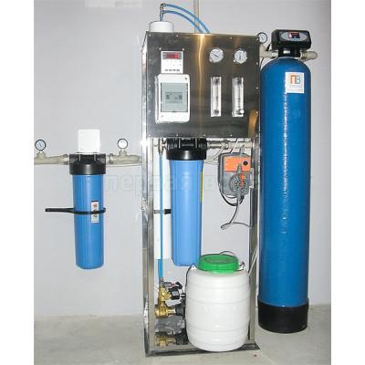 Без Скидки - Система получения очищенной воды, производительностью 250 л/час (до 5 м3/сутки) - фото 1