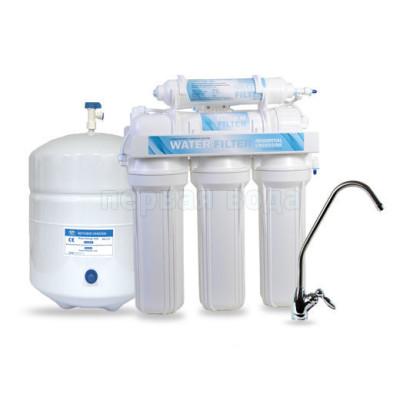 Фильтры с обратным осмосом - Фильтр с обратным осмосом Water Filter WFRO-5L-50 - фото 1