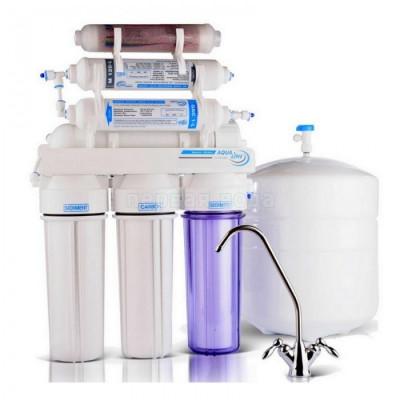 Фильтр с обратным осмосом AquaLine RO-6 bio