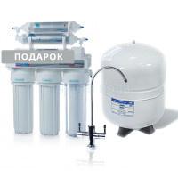 Фильтр с обратным осмосом Leader Standard RO-6 Silver Series