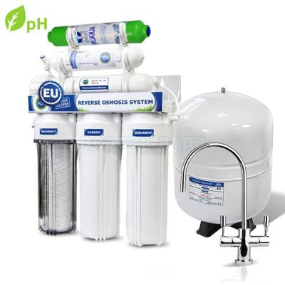 Фильтры обратного осмоса (нет в наличии) - Фильтр с обратным осмосом PAqua RO-7 Эко (с pH корректором) - фото 1