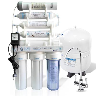 Фильтры обратного осмоса - Фильтр с обратным осмосом AquaMarine RO-7 UV bio - фото 1