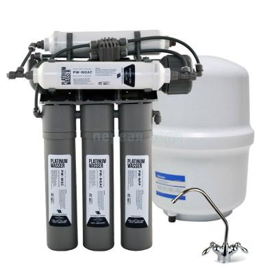 Фильтры обратного осмоса - Фильтр с обратным осмосом Platinum Wasser PLAT-F-NEO 6 - фото 1