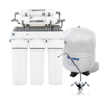 Фильтры обратного осмоса - Фильтр с обратным осмосом Platinum Wasser PLAT-F-ULTRA 6 - фото 1