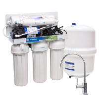Фильтр с обратным осмосом Aquafilter RP-RO5-75 с насосом
