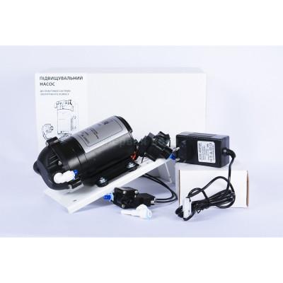 Помпы к системам обратного осмоса - Комплект повышения давления WE-P75 (WE-P 6005) в сборе на пластине - фото 1