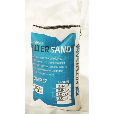 Фильтрующие и расходные загрузки - Кварцевый песок (гравий), 25 кг. для подложки - фото 1
