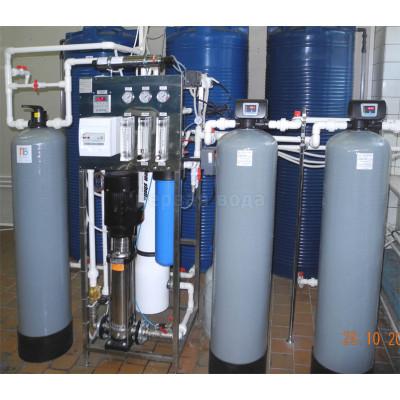 0 - Система получения очищенной воды, производительностью 1000 л/час (до 20 м3/сутки) - фото 1