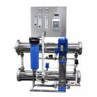 Система обратного осмоса PVRO-2000 с контроллером (2000 л/час)