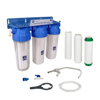 Проточные фильтры - Проточный фильтр Aquafilter Лагуна 3 (FP3-K1N) - фото 1