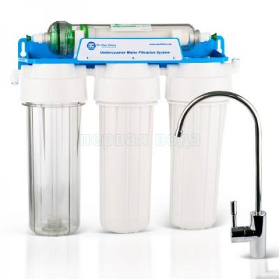 Проточный фильтр Aquafilter Лагуна 3K (FP3-HJ-K1) с UF мембраной - Aquafilter (Польша)