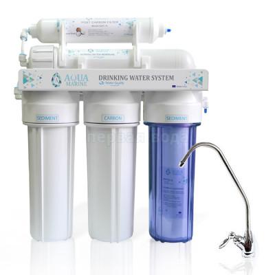 Проточные фильтры - Проточный фильтр AquaMarine 5UF - фото 1